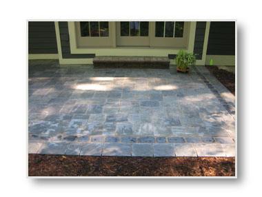 richcliff concrete paver patio holland michigan